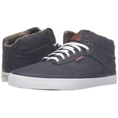 Vans Bedford ((Suiting Clash) Parisian Night/White) Men's Skate Shoes ($80) ❤ liked on Polyvore featuring men's fashion, men's shoes, men's sneakers, mens white leather shoes, mens leather shoes, mens skate shoes, mens white shoes and mens leather sneakers