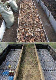 Как сделать тёплые грядки своими руками в теплице или на огороде?