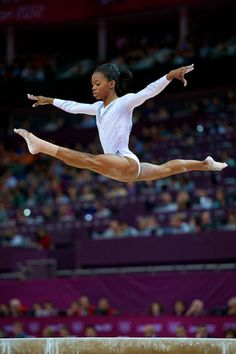 Gabby Douglas, It all started as a dream Gymnastics Books, Gymnastics Supplies, Gymnastics Tricks, Gymnastics World, Gymnastics Equipment, Elite Gymnastics, Gymnastics Workout, Rhythmic Gymnastics, Gymnastics History