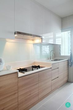 Modern Kitchen Design Here are 8 well-designed homes to make your OCDs (obsessive-compulsive disorder) something to easier live with. - Here are 8 well-designed homes to make your OCDs (obsessive-compulsive disorder) something to easier live with. Kitchen Ikea, Modern Kitchen Cabinets, Kitchen Cabinet Design, Kitchen Sets, Modern Kitchen Design, Kitchen Layout, Home Decor Kitchen, Interior Design Kitchen, Home Kitchens