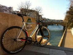 FIXED GEAR PINARELLO CRONO SCANDIUM by Neo@, via Flickr