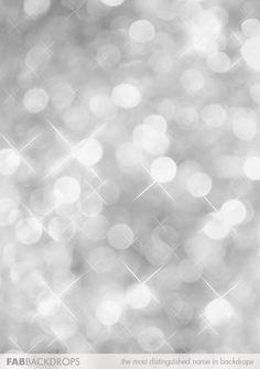 silver bokeh sparkles photography backdrop