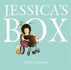 """""""Will Jessica find a friend at school? It's not easy when you're shy, so every day she brings her cardboard box filled with something different to share. Until, finally, she discovers that all she truly needs to share is herself. Jessica's Box will capture the heart of every child, parent, teacher… and friend. """" #awardwinning Earned the CBCA Notable Children's Book of the Year, Shortlist, Queensland Premier's Literary Award, Shortlist, Speech Pathology Australian Book of the Year"""