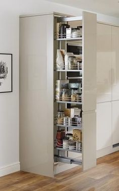 frostig sc136 integrated fridge with the door open hyttan. Black Bedroom Furniture Sets. Home Design Ideas