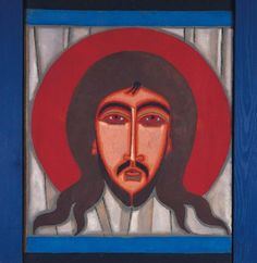 Jerzy Nowosielski Icon of Christ 'Not Made by Hands'