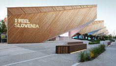 Declinazioni del legno ad Expo Milano 2015 | Campesato | Serramenti in Legno e Legno/Alluminio | Padova | Padiglione della Slovenia | Fonte: www.sono.si