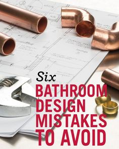 Considering a bathroom renovation? Be sure that you avoid these 6 bathroom design mistakes. Delta Faucet outlines way to make your bath redesign stress-free. home decor Bathroom Renos, Bathroom Renovations, Bathroom Faucets, Home Renovation, Small Bathroom, Master Bathroom, Bathroom Ideas, Bathroom Modern, Basement Remodeling