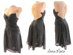 tango latin dress by Anna-Maria