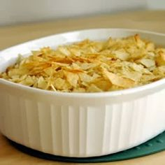 3 Generations of Southern Recipes: 1950's Tuna Noodle Casserole with Potato Chip Topping