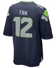 Nike Kids' Twelfth Man Seattle Seahawks Jersey | macys.com
