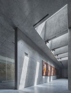 Gallery of Xuzhou City Wall Museum / Continual Architecture – 4 Xuzhou City Wall Museum / Kontinuierliche Architektur Shadow Architecture, Architecture Design, Concrete Architecture, Museum Architecture, Minimalist Architecture, Facade Architecture, Architecture Tattoo, Spanish Architecture, Concrete Building