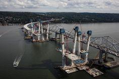 September 27, 2016 - Progress continues on the new bridge's main span.