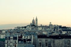 view from our apartment on beautiful Sacré-Cœur