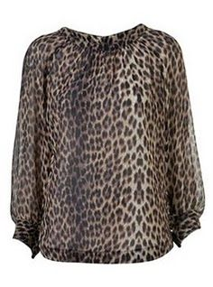 Topshop animal print @Rene-Ann Glover hehe! H&M for you.