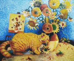 Van Gogh's Bad Cat - Eve Riser Roberts