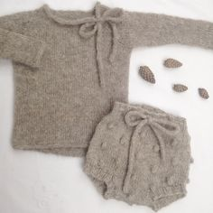 baby sweater & bloomer