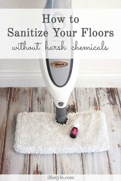 How to sanitize your