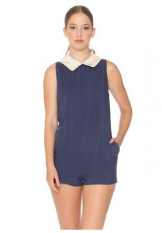 Playsuit Barrymore Navy