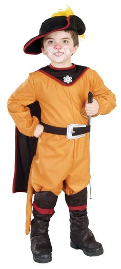 Kids Puss 'N Boots Costume - Shrek Costumes