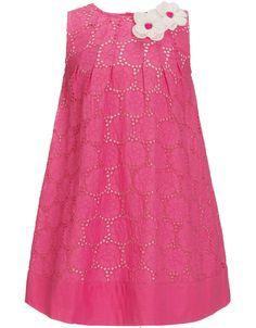 Kleid mit Stickerei | Pink | Monsoon