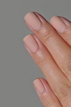 Matte nails. @thecoveteur