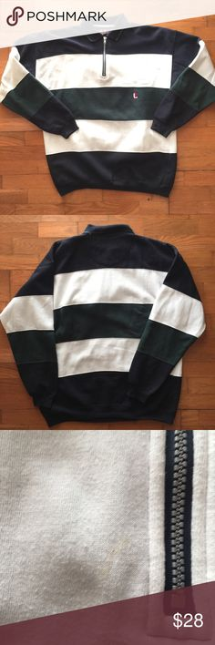ff5acbb4869b Vintage Rugby Pullover