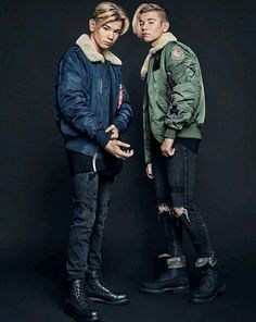 Marcus and Martinus ☺️ Delicious Boy, Boy Fashion, Mens Fashion, Boy M, Dream Boyfriend, Perfect Boy, Big Love, Mannequin, Cute Boys