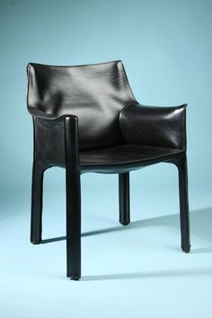 Cab Armchair by Mario Bellini for Cassina, Italy. 1977