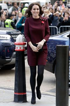 Kate Middleton Photos - Britain's Catherine, Duchess of Cambridge and patron of national children's mental health charity Place2Be, arrives for the annual Place2Be School Leaders Forum in London on November 8, 2017. / AFP PHOTO / POOL / John Phillips - The Duchess of Cambridge Attends Place2Be School Leaders Forum