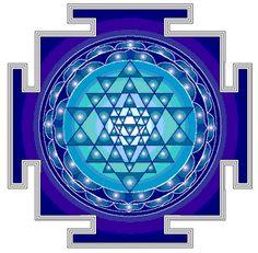 sri_yantra para meditación / cómo meditar con mandalas http://rayos-de-luz-de-amor-eterno.blogspot.com/2011/01/meditar-con-mandalas-yantra-circulos.html