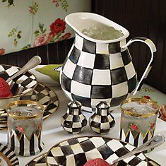 MacKenzie-Childs Courtly Check Dinnerware : checkerboard dinnerware - Pezcame.Com
