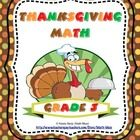 Your+students+will+have+a+blast+and+stay+academically+focused+with+this+Common+Core+aligned+Thanksgiving+math+packet.+  This+19+page+packet+include...