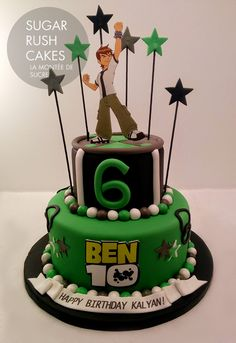 Image result for ben 10 fondant cake More