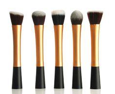XCSOURCE® Kit de Pinceau maquillage Professionnel 5PCS Ombre à Paupière Doré Blush Fondation Pinceau Poudre Fond de teint Anti-cerne Kit Pinceaux MT72: Amazon.fr: Beauté et Parfum
