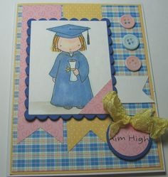 Happy Graduation Little Girl  My Favorite by LoveInBloomCreations, $3.00