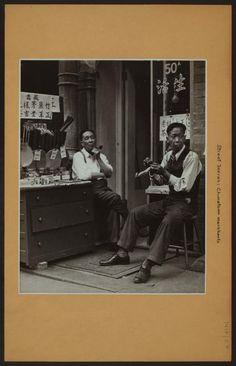 Chinatown Merchants, Mott Street (1939), Vintage Photograph