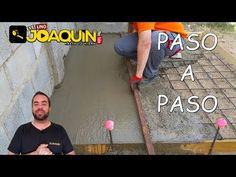 COMO HACER UNA LOSA DE HORMIGÓN (Para principiantes) - YouTube Concrete Slab, Reinforced Concrete, Exterior, Barbacoa, Patio, Youtube, Ideas, Israel, Virginia
