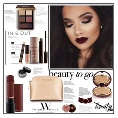 """BEAUTY TO GO . 14.11.2016"" by goharkhanoyan ❤ liked on Polyvore featuring beauty, Wander Beauty, Bobbi Brown Cosmetics, Laura Mercier, MICHAEL Michael Kors, Charlotte Russe, polyvorecontest, travelbeauty and beautytogo"