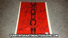 My Quentin Tarantino Autograph Collection: Kerry Washington, Walton Goggins and The Cast of D...