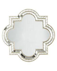 Bathroom Mirror -- Quatrefoil Mirror - Horchow