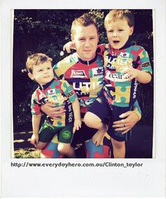 Clinton is raising money and awareness for Autism!  Having just cycled more than 1200km over 2 weeks, starting on World Autism Awareness Day, Clinton hopes to promote awareness and raise funds for Autism Tasmania to provide support to families that have been touched by Autism.  1 in 100 children are diagnosed with Autism, a lifelong developmental condition that affects what a person sees, hears and senses. Help spread awareness, and make a difference!
