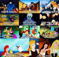 Disney meets Mean Girls ... 2 of my favorite things