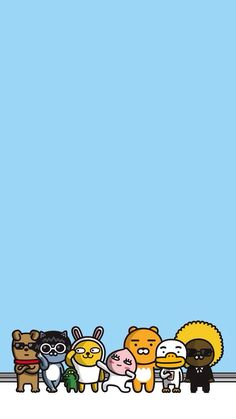 Check out this awesome collection of Kakao Friends wallpapers, with 37 Kakao Friends wallpaper pictures for your desktop, phone or tablet. K Wallpaper, Friends Wallpaper, Kawaii Wallpaper, Wallpaper Pictures, Pattern Wallpaper, Kakao Friends, Pink Phone Cases, Line Friends, Couple Drawings