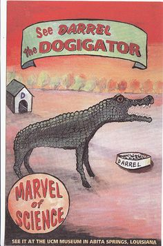 Darrel the Dogigator by Calsidyrose, via Flickr