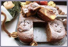 Lecker mit Geri: Walnusskuchen mit gefüllten Bratäpfeln - Орехов сладкиш с пълнени ябълки