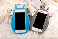 Totoro süße silikon Handy Schutz Hülle iphone4/4S/5/5S/6/Plus, Samsung…