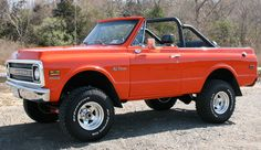 1969 Chevy Blazer CST Convertible