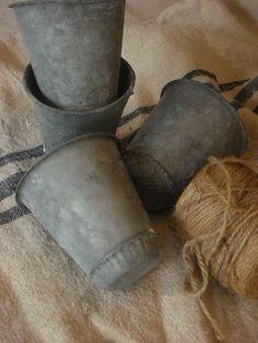 vintage sap pots