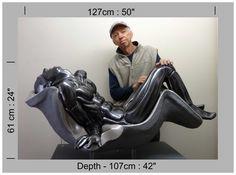 Massage Chair, Sculpture, Decor, Dekoration, Sculpting, Decoration, Sculptures, Carving, Statue