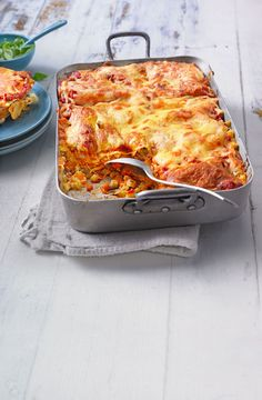 Julie& fine vegetable lasagne - Colorful vegetable lasagna with eggplant, zucchini, carrots and cheese - Vegetable Recipes, Vegetarian Recipes, Cooking Recipes, Chefs, Vegetable Lasagne, Eggplant Lasagna, Eggplant Zucchini, How To Cook Pasta, Food Inspiration